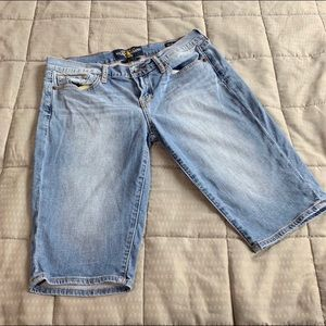 Lucky Brand Bridgette Bermuda Jean Shorts Sz 8/29